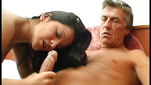 Engaging young bimbo Nina bounces on hard pussy tester