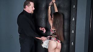 She gets used up by the dude to be fucked