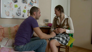 Smooth putz of a sexual princess Vlada gets satisfied to the maximum